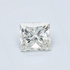 Recommended Stone #1: 0.46-Carat Princess Cut Diamond