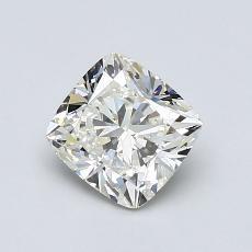 Pierre recommandée n°1: Diamant Taille coussin de 1,00carat