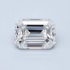 Target Stone: 0,90-Carat Emerald Cut Diamond
