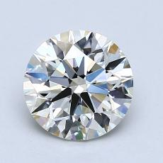 1.50-Carat Round Diamond Ideal K VS1
