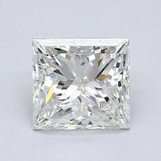 推荐宝石 3:1.52 克拉公主方形钻石