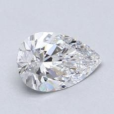 Recommended Stone #2: 1,09-Carat Pear Cut Diamond