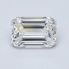 1.01-Carat Emerald Diamond Very Good E IF