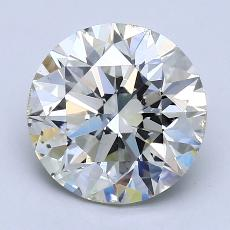 Recommended Stone #2: 3.02-Carat Round Cut Diamond
