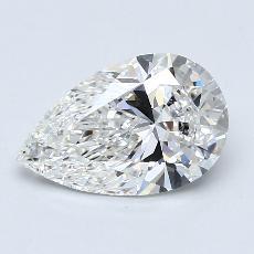 2.01 Carat 梨形 Diamond 非常好 F VS2