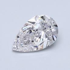 推荐宝石 3:0.90 克拉梨形切割钻石