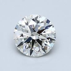1,05-Carat Round Diamond Ideal J VS1