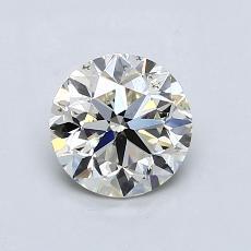 1.00 Carat 圓形 Diamond 非常好 K SI1