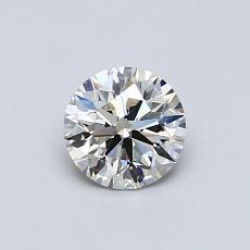 Recommended Stone #3: 0,58-Carat Round Cut Diamond