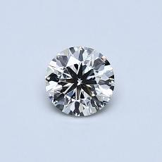 Recommended Stone #2: 0.40-Carat Round Cut