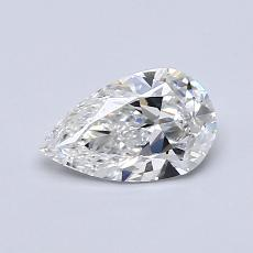 Recommended Stone #3: 0.64-Carat Pear Cut Diamond