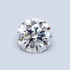 推荐宝石 2:0.61克拉圆形切割钻石