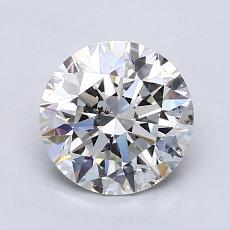 1.51-Carat Round Diamond Ideal H SI1