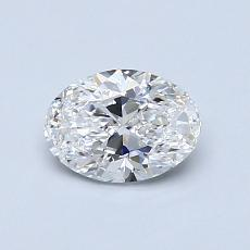 0.70-Carat Oval Diamond Very Good E VS1