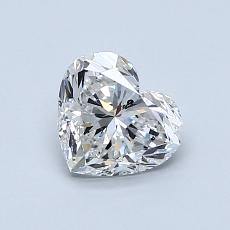 Recommended Stone #3: 0.90-Carat Heart Cut Diamond