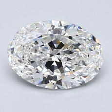 1.51-Carat Oval Diamond Very Good E VS1