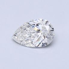 0.50 Carat Pera Diamond Muy buena G SI1