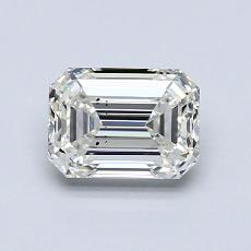 1.03-Carat Emerald Diamond Very Good I SI1