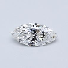 Recommended Stone #1: 0,36-Carat Marquise Cut Diamond