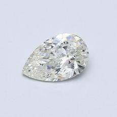 Piedra recomendada 4: Diamante en forma de pera de0.45 quilates