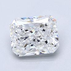 Recommended Stone #3: 1.63-Carat Radiant Cut Diamond