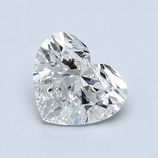 1.00-Carat Heart Diamond Very Good F VVS2