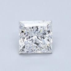 Recommended Stone #3: 0.81-Carat Princess Cut Diamond