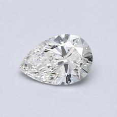 Recommended Stone #2: 0.61-Carat Pear Cut Diamond