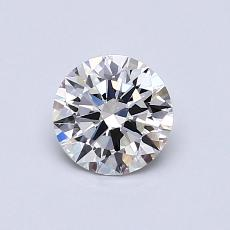 0.63-Carat Round Diamond Ideal G VS1