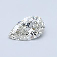 推薦鑽石 #2: 0.51 克拉梨形鑽石
