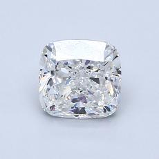 1.00 Carat 墊形 Diamond 非常好 G VVS2