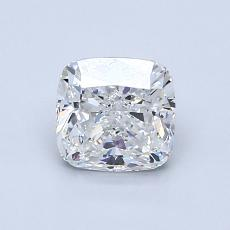 1.00-Carat Cushion Diamond Very Good G VVS2