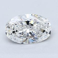 Recommended Stone #4: 1.01-Carat Oval Cut Diamond