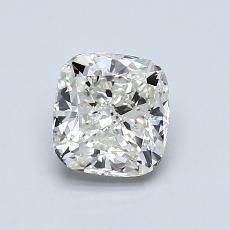 1.00-Carat Cushion Diamond Very Good J VVS1