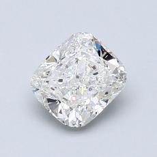 1.00-Carat Cushion Diamond Very Good F VS2