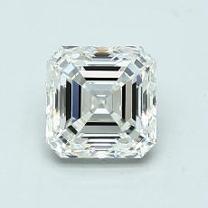 Pierre recommandée n°2: Diamant taille Asscher 1,10 carat