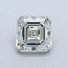 推薦鑽石 #1: 1.01  克拉上丁方形鑽石