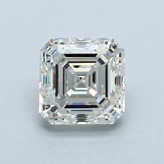 Recommended Stone #1: 1.01-Carat Asscher Cut Diamond