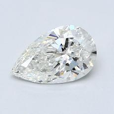Recommended Stone #4: 1.03-Carat Pear Cut Diamond