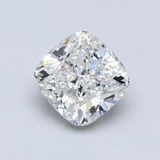0.85-Carat Cushion Diamond Very Good G VS1