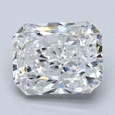 2.02-Carat Radiant Diamond Very Good F VS1