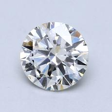 0.90-Carat Round Diamond Very Good I VS2