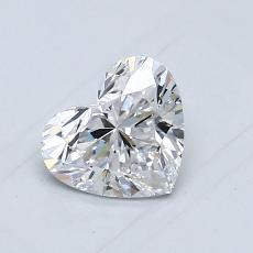 0.70 Carat 心形 Diamond 非常好 D VS1