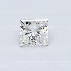 Pierre recommandée n°3: Diamant taille princesse 0,36 carat