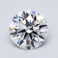 1.51 Carat 圓形 Diamond 理想 D VS2