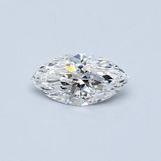 0.31-Carat Marquise Diamond Very Good E VS2