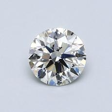 0.70-Carat Round Diamond Ideal I SI2