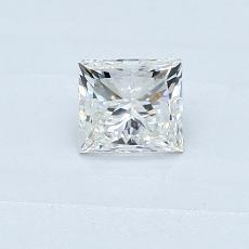 0.40-Carat Princess Diamond Very Good H VS2