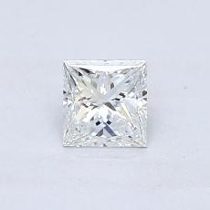 Recommended Stone #1: 0.46-Carat Princess Cut Diamond