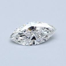 Recommended Stone #4: 0.40-Carat Marquise Cut Diamond